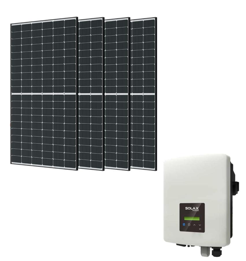 1,5 kW saules PV paneļu sistēma